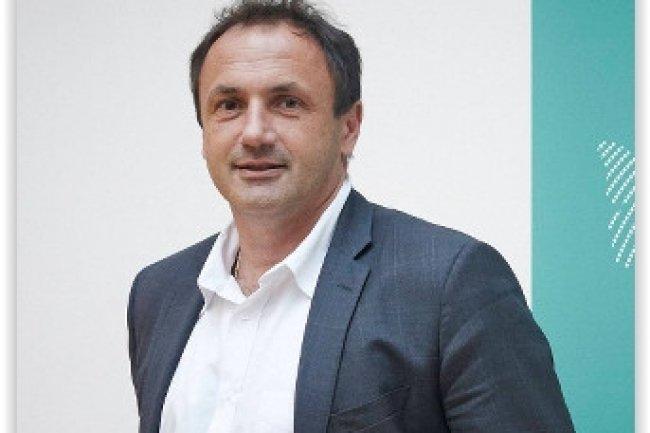 Ludovic Le Moan, PDG de Sigfox, la société toulousaine Sigfox, propose une technologie réseau longue distance et basse consommation (LPWA) pour l'Internet des objets. (crédit : D.R.)