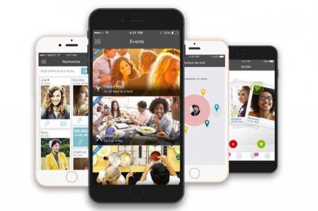 L'application mobile de Meetic est un canal essentiel d'utilisation de ce service de rencontres. (Cr�dit D.R.)