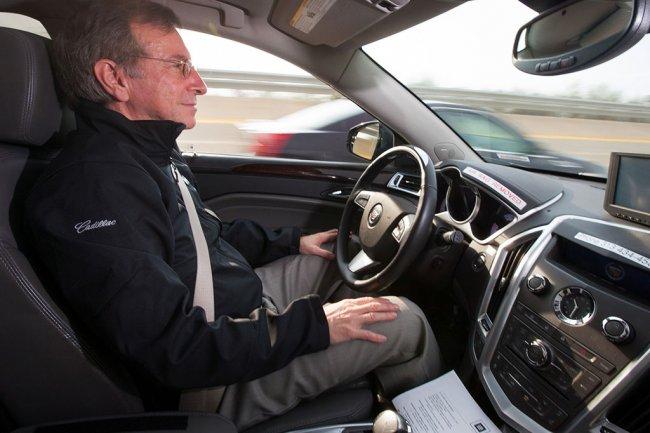 Les géants américains de l'automobile comme GM compte bien rivaliser dans le domaine des voitures autonomes. (Crédit GM).