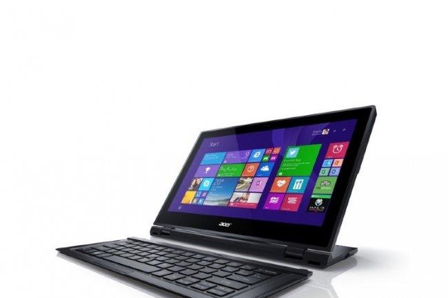 La Switch 12 S d�Acer est une tablette hybride qui pr�sente des performances digne d'un PC portable. (Cr�dit D.R)
