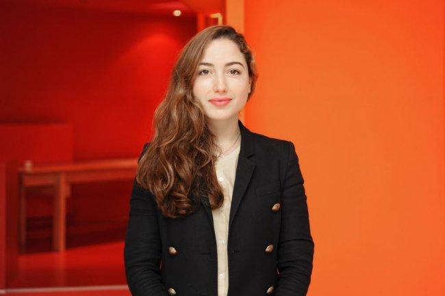 Diana Filippova vient d'être promue responsable des relations écosystème start-ups chez Microsoft France. Crédit: Microsoft.