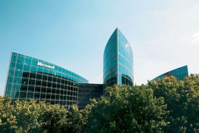 Le fisc fran�ais soup�onnait Microsoft France d'avoir d�localis� des factures de services r�alis�s dans l'Hexagone. (Cr�dit D.R.)