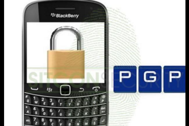 Les communications sur les Blackberry PGP ne passeraient pas entre les mailles de la Police. (cr�dit : D.R.)
