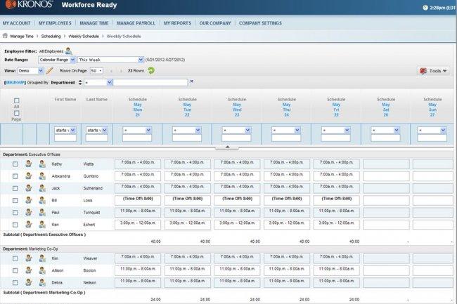 Suite � un accord entre Kronos et Google, les outils du premiers pourront �tre reli�s aux Apps for Work.