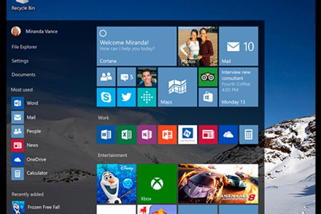 Après le grand public, Microsoft s'attaque aux utilisateurs de licences Windows 7 et 8.1 Pro pour migrer vers Windows 10. (crédit : D.R.)