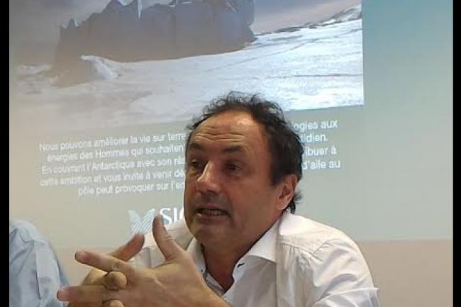 Ludovic Le Moan, PDG de Sigfox, nous a indiqu� qu'une nouvelle lev�e de fonds ainsi qu'une introduction en bourse faisaient partie des hypoth�ses de d�veloppement pour l'entreprise dans les mois � venir. (cr�dit : D.F.)