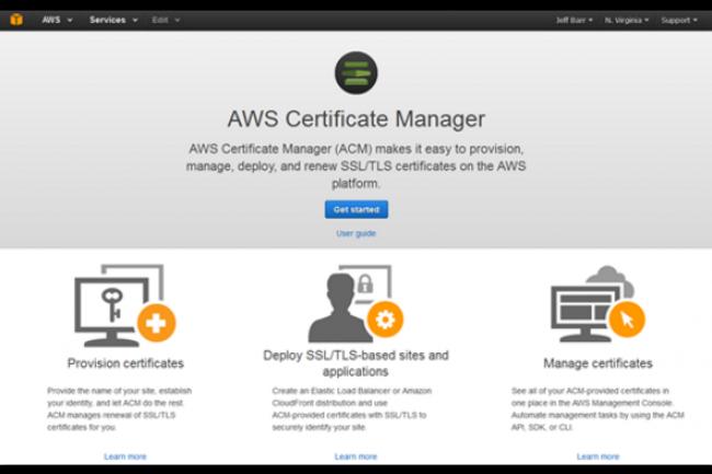 Le service cloud de certificats TLS/SSL gratuit arrive quelques semaines apr�s ceux de Let's Encrypt soutenu notamment par la fondation Mozilla. (cr�dit : D.R.)
