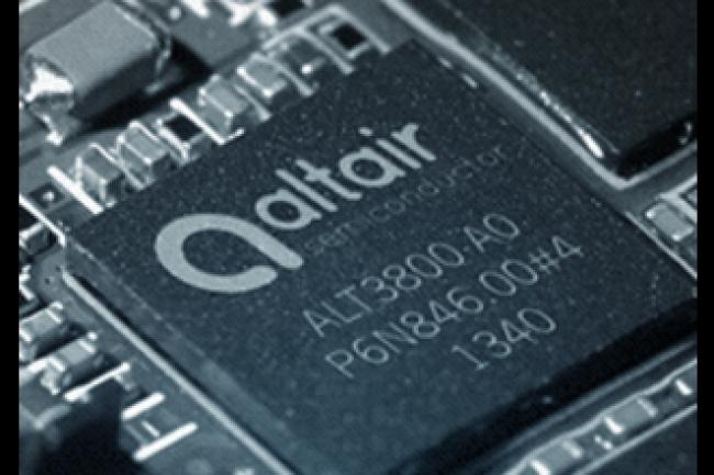 Altair propose des puces et chipsets (jeux de composants) pour terminaux connectés et celullaires 4G LTE. (crédit : D.R.)