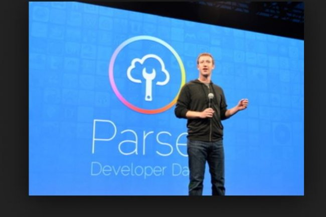 Mark Zuckerberg,  fondateur et CEO de Facebook, lors de la  conférence des développeurs de Parse, en septembre 2013. Crédit: Computerworld.