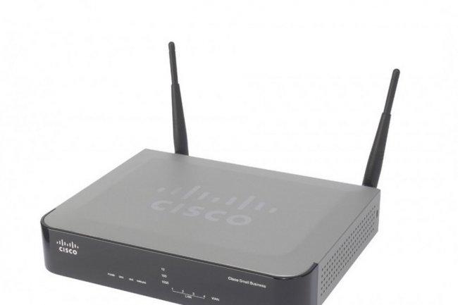 Parmi les produits Cisco vuln�rables, on trouve le tr�s populaire pare-feu RV220W. (Cr�dit D.R.)