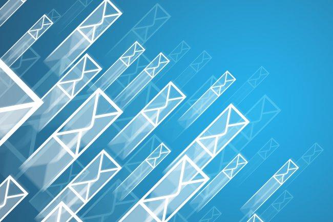 Microsoft devant Google sur le marché de l'email en mode cloud. (Crédit D.R.)