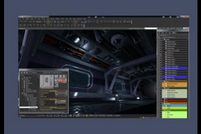 Lumberyard, un moteur 3D pour créer des jeux-vidéo signé Amazon. (crédit : D.R.)