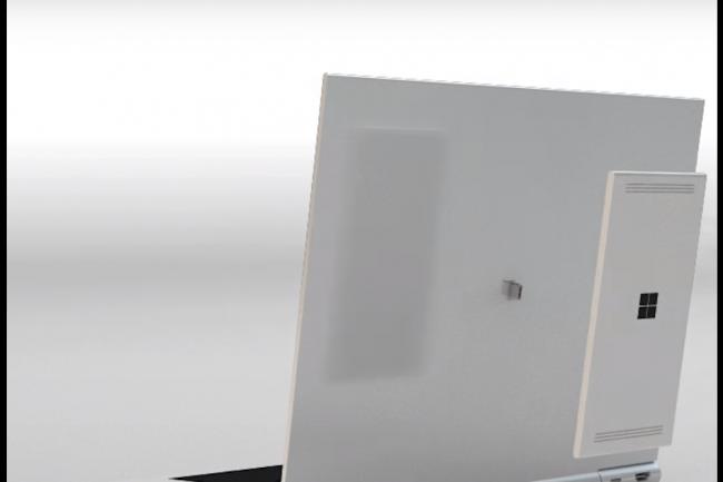 NexDock a imagin� un PC portable pouvant accueillir et faire tourner tablettes et smartphones Android, Windows 10 ou Ubuntu. (cr�dit : D.R.)