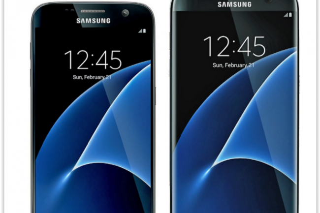Voici ce à quoi pourraient ressembler les versions classique et Edge du Galaxy S7. (crédit : Evleaks)