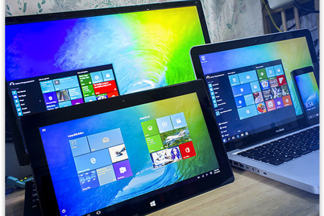 Avec un budget informatique annuel de 44 milliards de dollars, la migration vers Windows 10 de 4 millions de postes ne devrait pas peser très lourd. (crédit : D.R.)