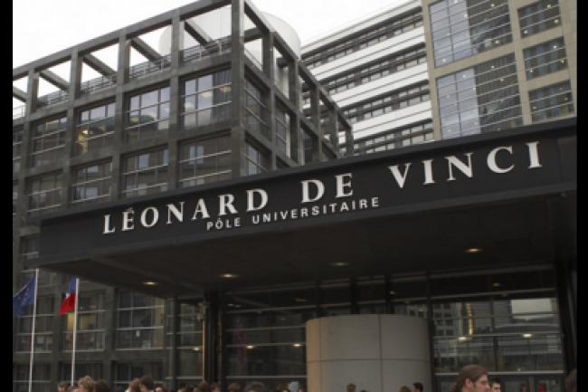 L'ESILV fait partie du groupe Leonard de Vinci (EMLV). (crédit : D.R.)