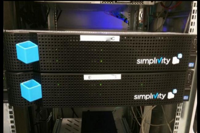 Simplivity permet d'homog�n�iser la gestion de l'infrastrcuture d'Interdata. (cr�dit : D.R.)
