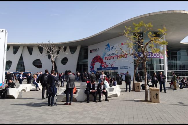 Un temps au beau fixe pour le Mobile World Congress 2016 qui se déroule en ce moment à Barcelone. (crédit : LMI)