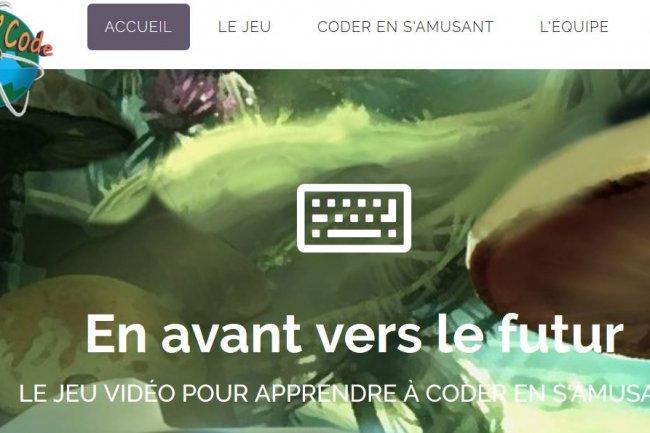 Pour encourager l'apprentissage de la programmation, Play'n'Code propose une plate-forme ludique et éducative. Crédit: D.R.