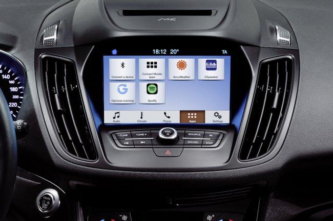 La plate-forme Sync 3 peut accueillir des apps développées par des tiers. (crédit : LMI)