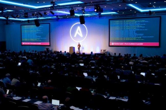 La semaine dernière à Londres, la conférence AnsibleFest a réuni 500 personnes. (crédit : D.R.)
