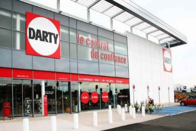Le groupe Darty poss�de plus de 260 magasins en France dont une quarantaine en franchise. (cr�dit : D.R.)