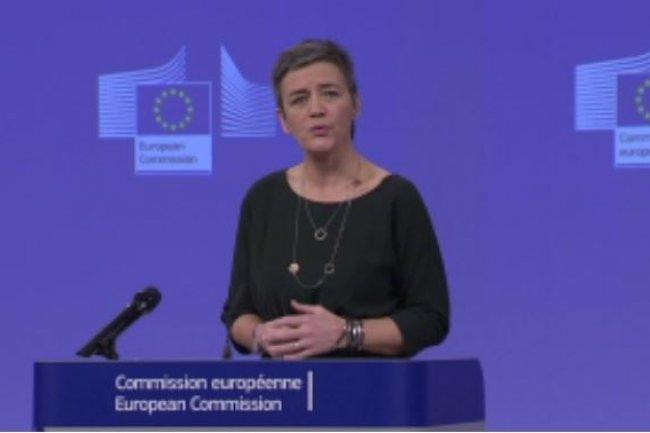 Margrethe Vestager, Commissaire europ�enne � la concurrence, a soulign� que l'acquisition d'EMC par Dell avait pu �tre approuv� rapidement compte-tenu de la situation concurrentielle des march�s concern�s. (cr�dit : D.R.)