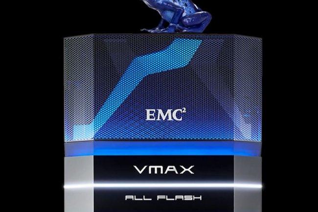 EMC annonce deux mod�les suppl�mentaires de baies 100% flash, les VMax 450 et 850.