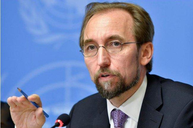 Zeid Ra'ad Al Hussein, Haut Commissaire aux droits de l'homme à l'ONU, pointe le danger d'obliger Apple à intervenir dans l'affaire de San Bernardino. (crédit : UN)