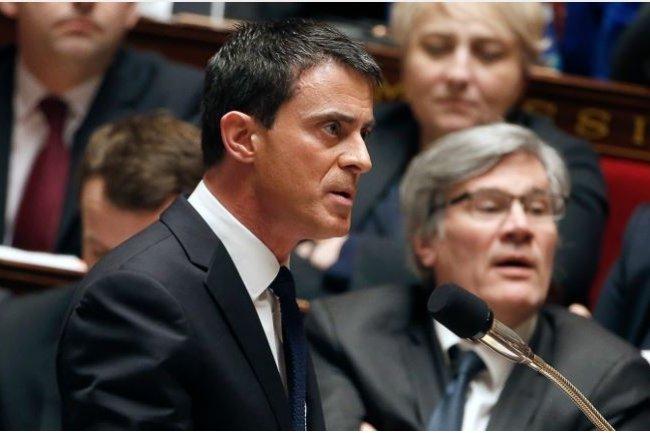 Manuel Valls, premier ministre, a confirm� l'enveloppe de 10 Md� pour le 3�me volet du programme d'investissements d'avenir, PIA 3. (ci-dessus lors d'une intervention � l'Assembl�e nationale / Cr�dit : Gouvernement.fr)