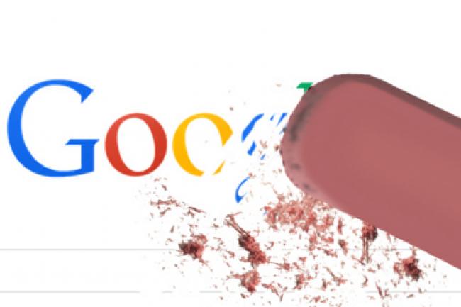 En France, plus de 85 000 demandes de suppressions d'URL ont été demandées à Google depuis mai 2014. (crédit : D.R.)