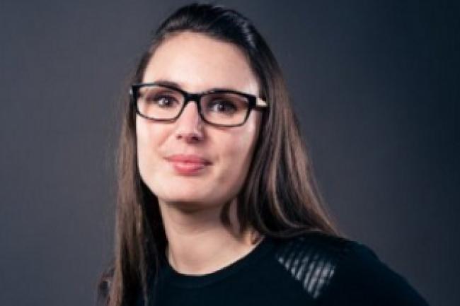 Anaïs Vivion, dirigeante et co-fondatrice de BeApp, a reçu le prix de l'entrepreneuse de l'édition 2015 de Femmes du Digital Ouest. Elle sera la présidente d'honneur de l'édition 2016. (crédit : D.R.)