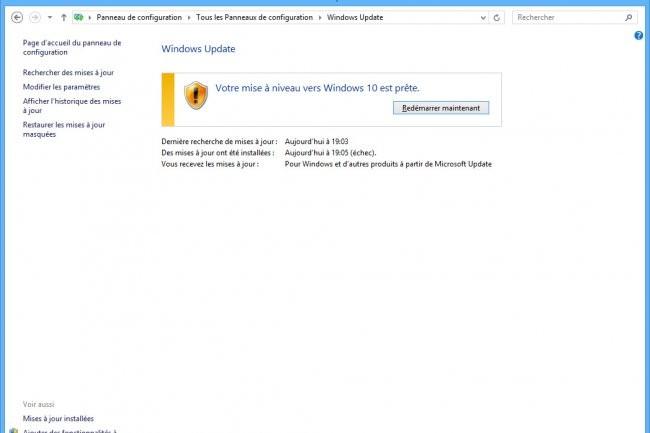La derni�re campagne de Microsoft pour pousser les clients � installer Windows 10 semble avoir fonctionn�e.