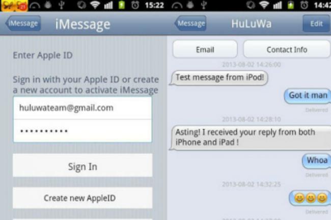 La faille dans l'outil iMessage d'Apple a permis à des chercheurs en sécurité de déchiffrer une photo stockée dans iCloud. (crédit : D.R.)