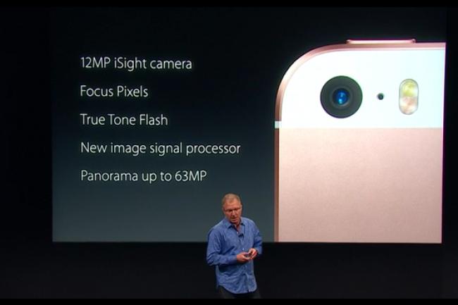 Avec l'iPhone SE, Apple revient sur le marché des smartphones aux tailles d'écran modestes. (crédit : D.R.)