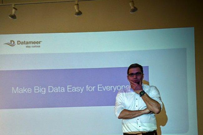 Datameer apporte des outils de gouvernance pour l'analyse Hadoop, nous a indiqué Stefan Groschupf, CEO de la start-up. (crédit : SL)