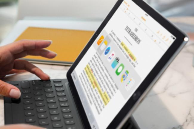 Dévoilé le 21 mars, l'iPad Pro 9,7 pouces sera disponible à partir du 31 mars. (crédit : D.R.)