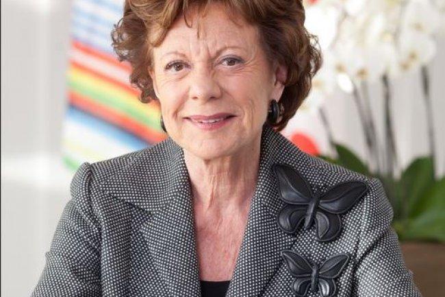 Actuellement envoyée spéciale de StartupDelta, une initiative du gouvernement néerlandais, Neelie Kroes a été nommée au conseil d'administration de Salesforce.com. (crédit : ec.europa.eu)