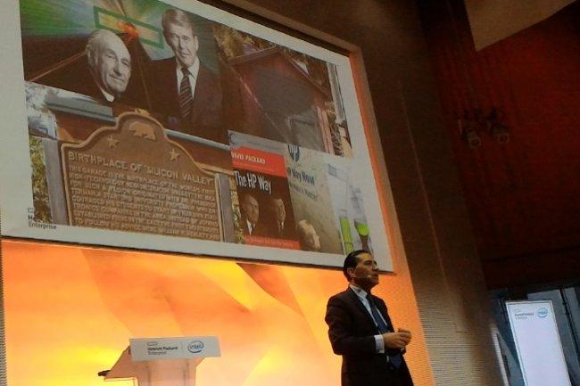 Gérald Karsenti, directeur général de la filiale française d'HPE, a officialisé la création de sa société ce 22 mars. (crédit : LMI)