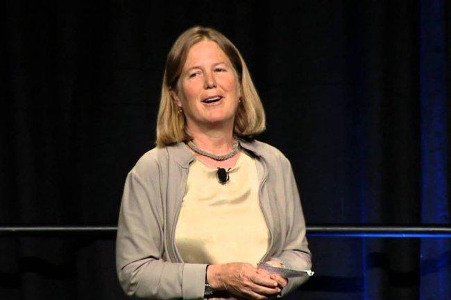 En provenance de VMware, Diane Greene, désormais aux commandes des activités cloud de Google, compte mettre les bouchées doubles pour faire valoir la Google Cloud Platform auprès des entreprises. (crédit : D.R.)