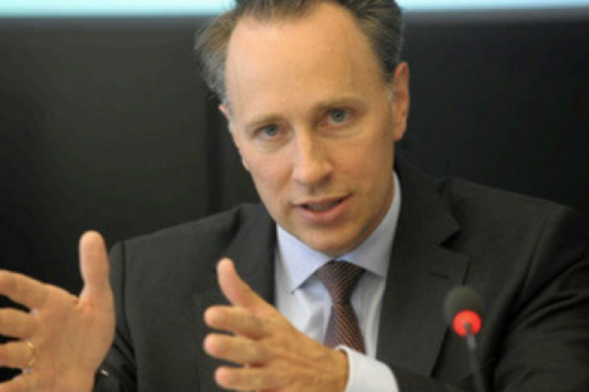 Le jour m�me de sa nomination, Thomas Buberl, se fixe comme priorit� la transformation num�rique d'Axa. (cr�dit : D.R.)
