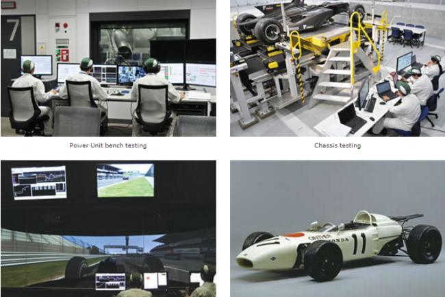 Les �quipes Honda R&D travaillent sur de nombreuses typologies de donn�es li�es tant aux moteurs qu�aux voitures et � leur comportement routier. (cr�dit : D.R.)