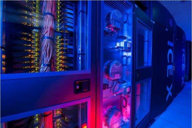 Le supercalculateur Pangea de Total utilis� pour l'aide � la d�cision sur l'exploration p�troli�re n�cessite maintenant une puissance �lectrique de 4,5 MW. (cr�dit : Total)