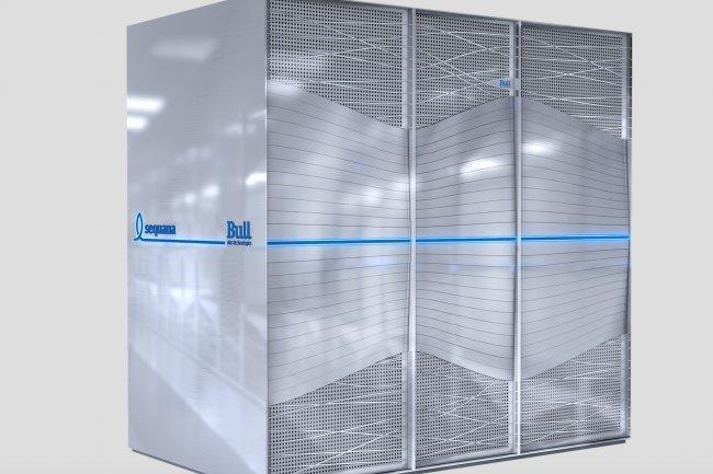 Le système de génération exascale Sequana développé par Bull au sein d'Atos est en cours d'installation au CEA. (crédit : D.R.)
