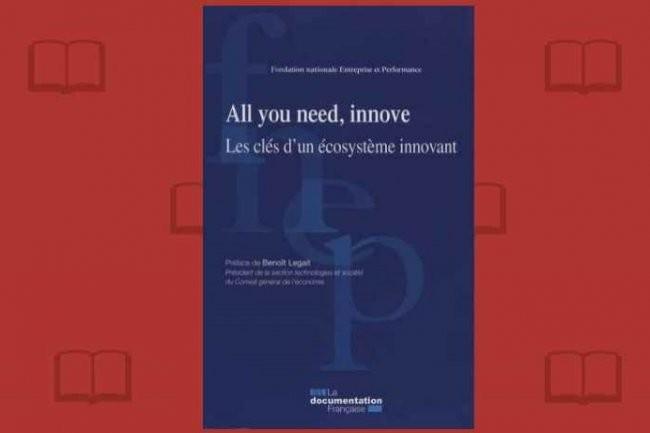 Le rapport 2015 de la FNEP, «All you need, innove - Les clés d'un écosystème innovant», vient de paraître à La Documentation Française.