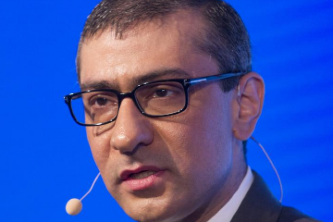 A la tête de Nokia Corporation depuis la fusion entre Nokia et Alcatel-Lucent il y a un an, Rajeev Suri a promis des synergies de coût sans détailler le nombre de postes supprimés au niveau mondial. (crédit : D.R.)