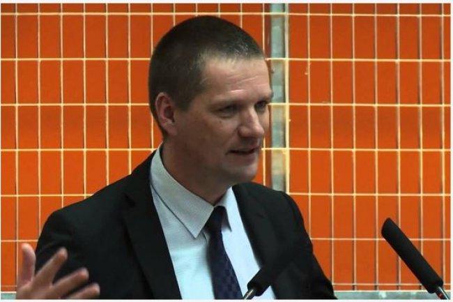 Guillaume Poupard, directeur général de l'Agence nationale de la sécurité des systèmes d'information, a insisté sur les menaces contre les entreprises. (crédit : D.R.)