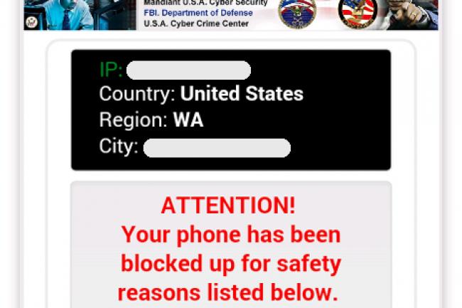Les ransomwares mobiles sont la plaie d'un bon nombre de directions informatiques et d'utilisateurs. (crédit : D.R.)