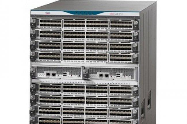 Les commutateurs pour datacenters de la gamme Nexus 9000  proposent des connexions à 25, 50 et 100 Gb/s.