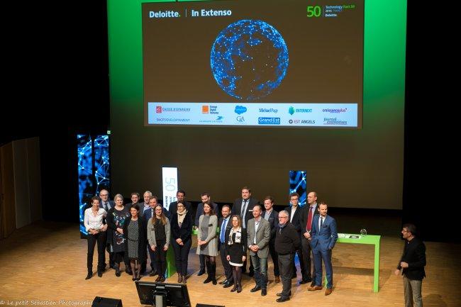 Le 14 novembre, le Technology Fast 50 de Deloitte était à Nancy (ci-dessus) et à Nantes pour les Palmarès Est et Ouest. (Crédit : D.R.)